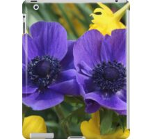 Anemone & Jonquils iPad Case/Skin