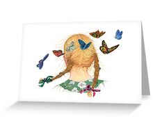 Butterfly Braid Song Greeting Card