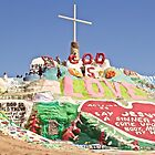 This is Salvation Mountain by John Butler