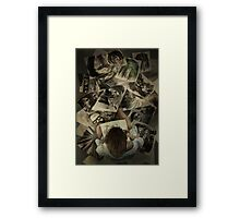 Zed's Drawings Framed Print