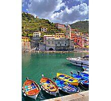 Vernazza - Five Lands - Marina Photographic Print