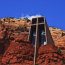 Chapel Of the Holy Cross by Nancy Richard