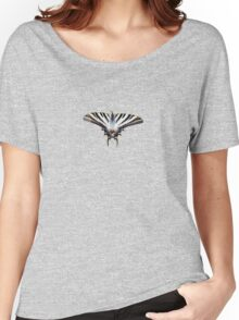 Swallowtail Resting on Oleander Leaves  Background Removed Women's Relaxed Fit T-Shirt