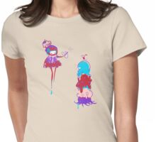 Poof Womens Fitted T-Shirt