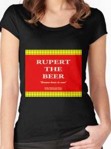 Rupert the Beer Women's Fitted Scoop T-Shirt