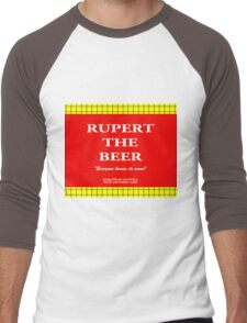 Rupert the Beer Men's Baseball ¾ T-Shirt