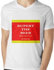 Rupert the Beer Mens V-Neck T-Shirt