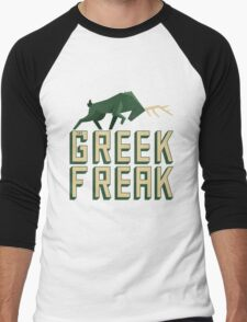 The Greek Freak Men's Baseball ¾ T-Shirt