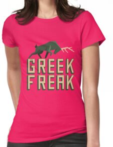 The Greek Freak Womens Fitted T-Shirt
