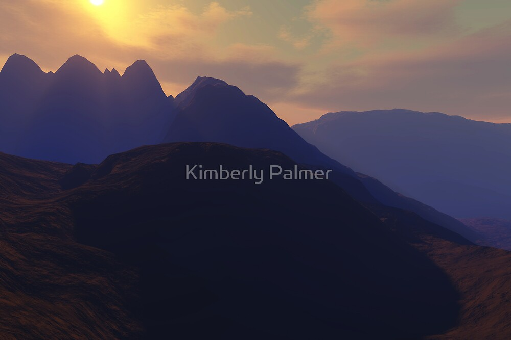 as the sun moves by Kimberly Palmer