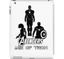 avengers: age of tron. iPad Case/Skin