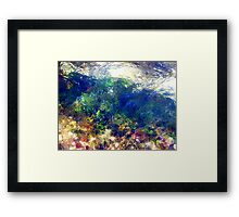Moving Colours...... Framed Print