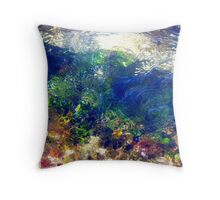 Moving Colours...... Throw Pillow