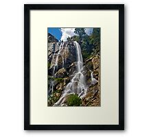 Kings Canyon Grizzley Falls Framed Print