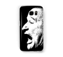 Robin Williams funny scream (BLACK T-SHIRT) Samsung Galaxy Case/Skin