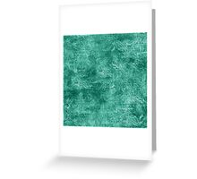 Lucite Green Oil Painting Color Accent Greeting Card