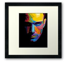 Ben Affleck batman portrait Framed Print