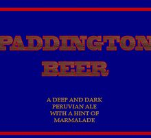Paddington Beer by kerchow