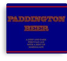 Paddington Beer Canvas Print