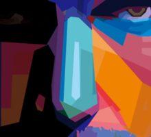 Ben Affleck batman portrait Sticker