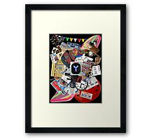 Back to the Future Trilogy MIX Framed Print