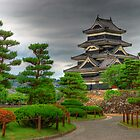 Matsumoto castle, Japan by Yevgen Pogoryelov