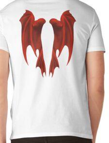 Dragon Wings Mens V-Neck T-Shirt