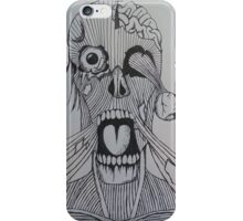 When Mars Attacks Meets Zombies iPhone Case/Skin