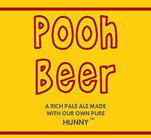 Pooh Beer by kerchow