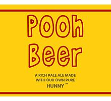 Pooh Beer Photographic Print