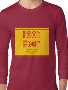 Pooh Beer Long Sleeve T-Shirt