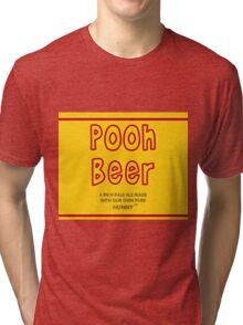 Pooh Beer Tri-blend T-Shirt