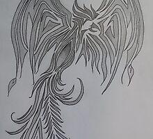 A Phoenix Born From Leaden Ash by EternalAvalon