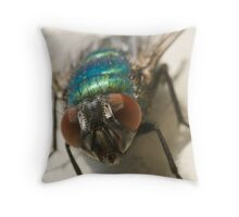 blow fly Throw Pillow