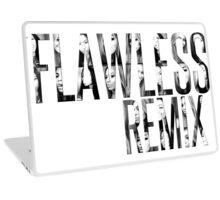 """***Flawless Remix"" from Beyoncé - Platinum Edition (Selfies) Laptop Skin"