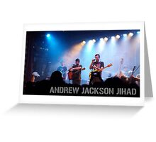 Andrew Jackson Jihad- Live in Brooklyn Greeting Card