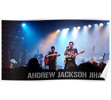 Andrew Jackson Jihad- Live in Brooklyn Poster