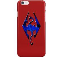 Blue Skyrim Logo iPhone Case/Skin