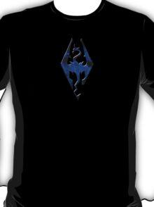 Blue Skyrim Logo T-Shirt