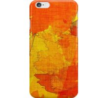 Orange, Red and Yellow Abstract  iPhone Case/Skin