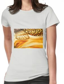 On Sunset River Womens Fitted T-Shirt