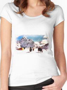 Tibet Women's Fitted Scoop T-Shirt