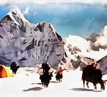 Tibet by valeriyU