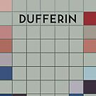 DUFFERIN Subway Station by Daniel McLaren