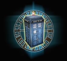 Dr.Who Tardis by Cerberus68