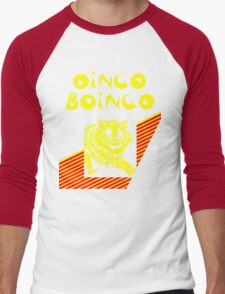 Oingo Boingo cat Men's Baseball ¾ T-Shirt