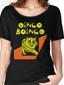 Oingo Boingo cat Women's Relaxed Fit T-Shirt