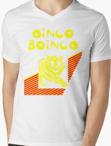 Oingo Boingo cat Mens V-Neck T-Shirt
