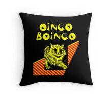 Oingo Boingo cat Throw Pillow
