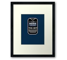 Sherlocked Phone Framed Print